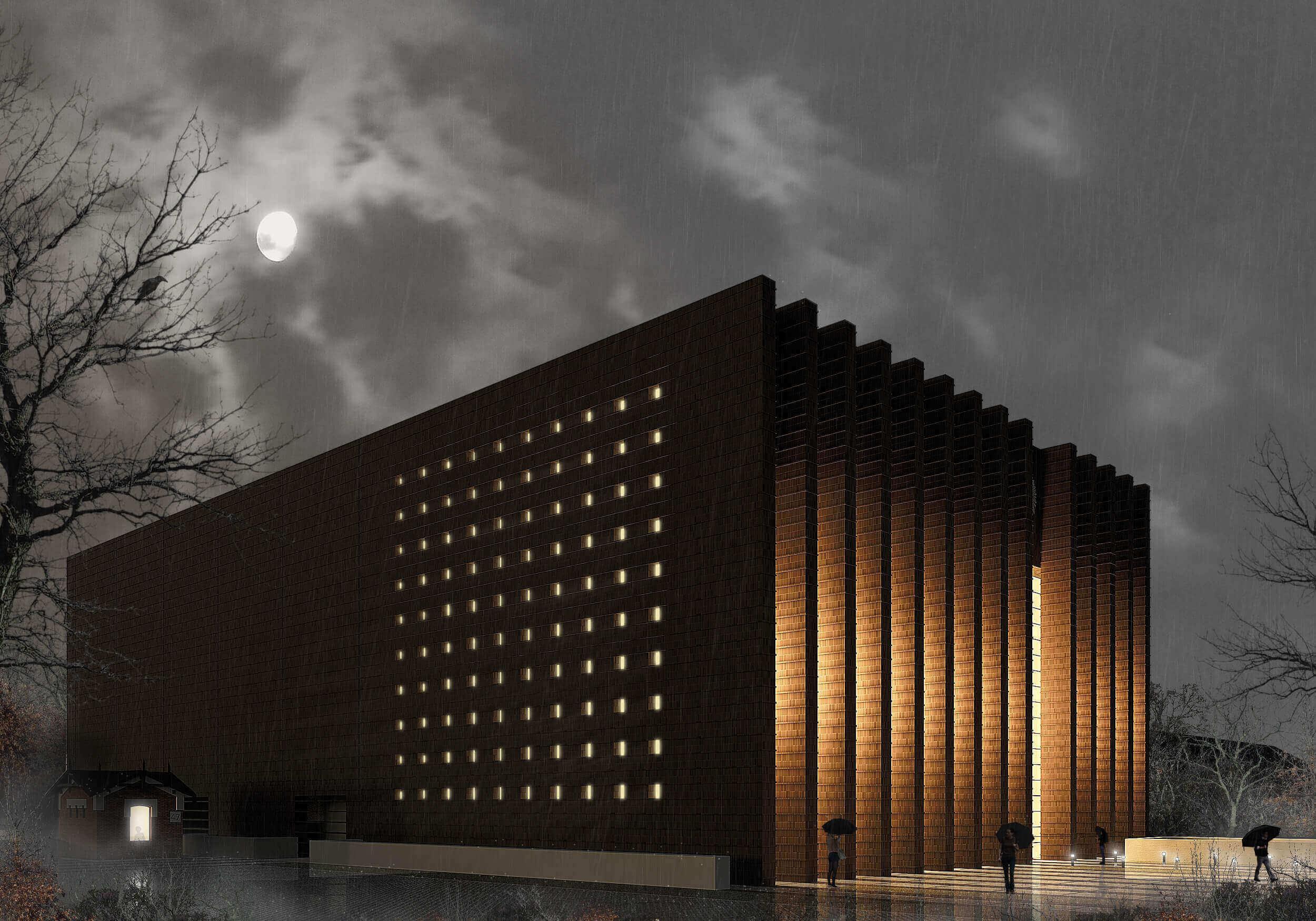 Budynek nowej siedziby Archiwum Narodowego
