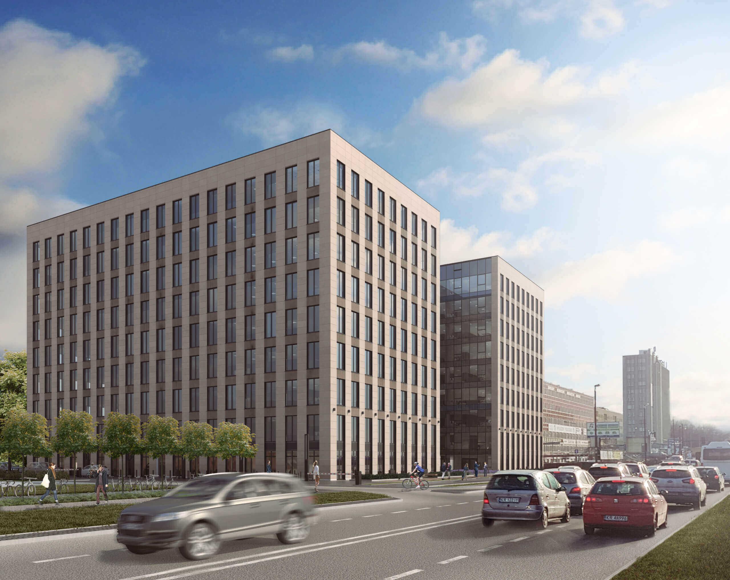 Budynek biurowo - usługowy Kreo