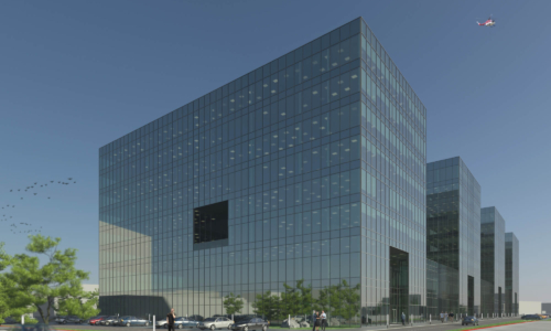 Office, hotel and commercial center in Krakow