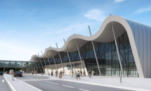 International Passenger Terminal (redevelopment and expansion) in Balice
