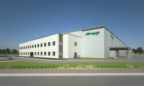 WIGO logistics and distribution center in Niepołomice
