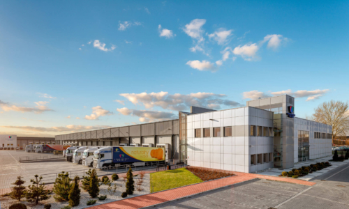 Consorfrut logistics center in Krakow